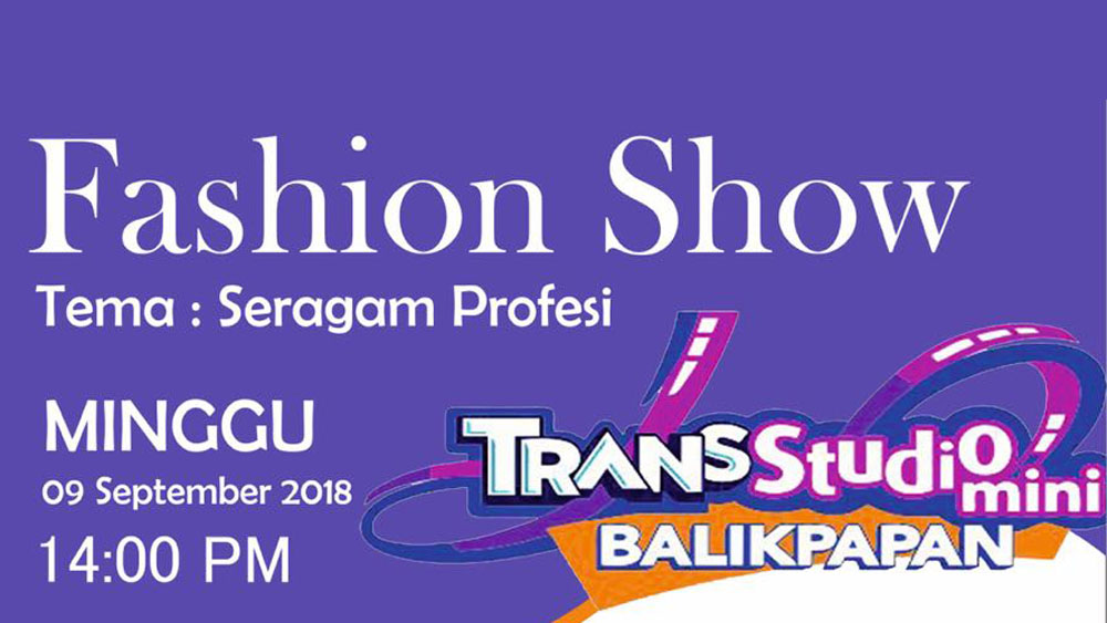 event fashion show balikpapan 2018
