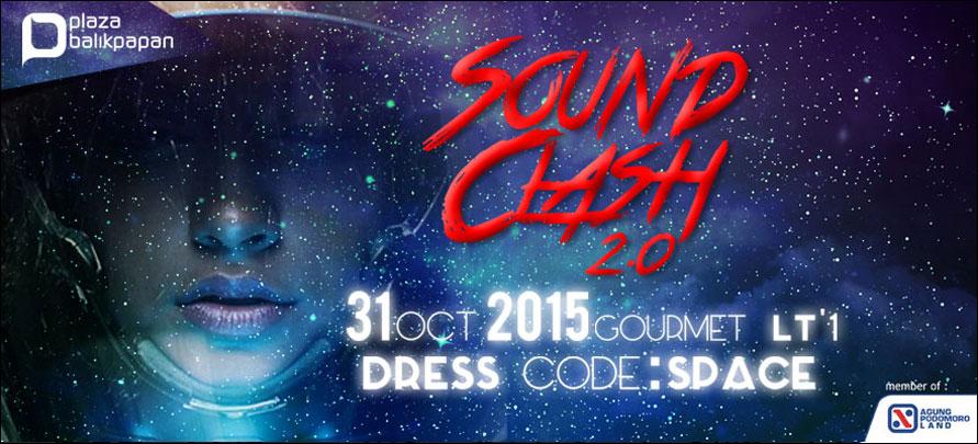 Sound Clash 2.0 Halloween Space Plaza Balikpapan