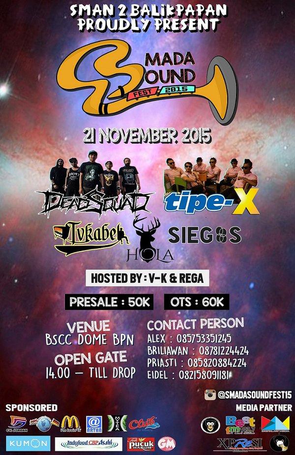 event balikpapan - smada sound festival 2015