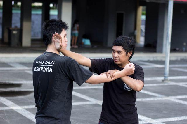 komunitas balikpapan - banua etam combat pelajari wing chun