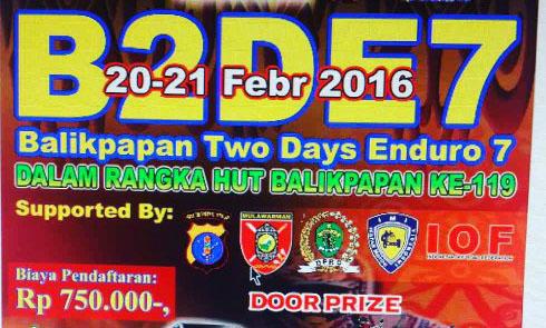 event Balikpapan two days enduro 7 2016