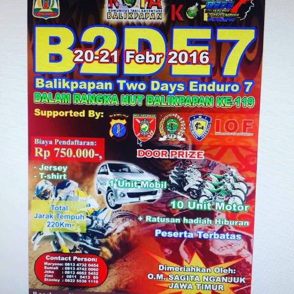event Balikpapan two days enduro 7