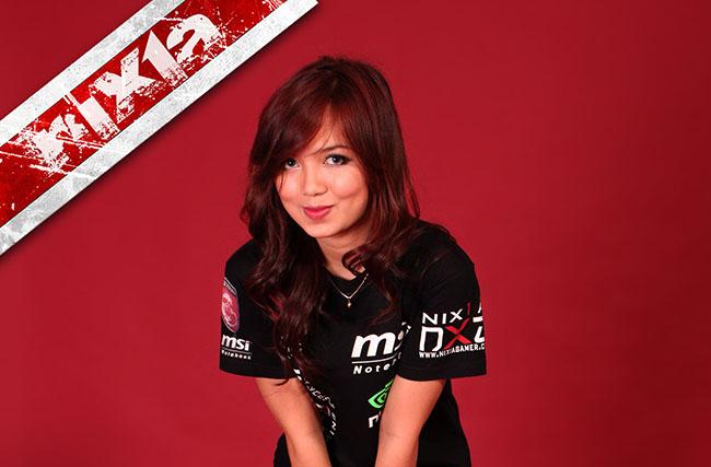 nixia atlet e-sports indonesia