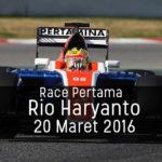 rio haryanto race pertama