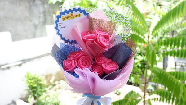 feltflowers indonesia