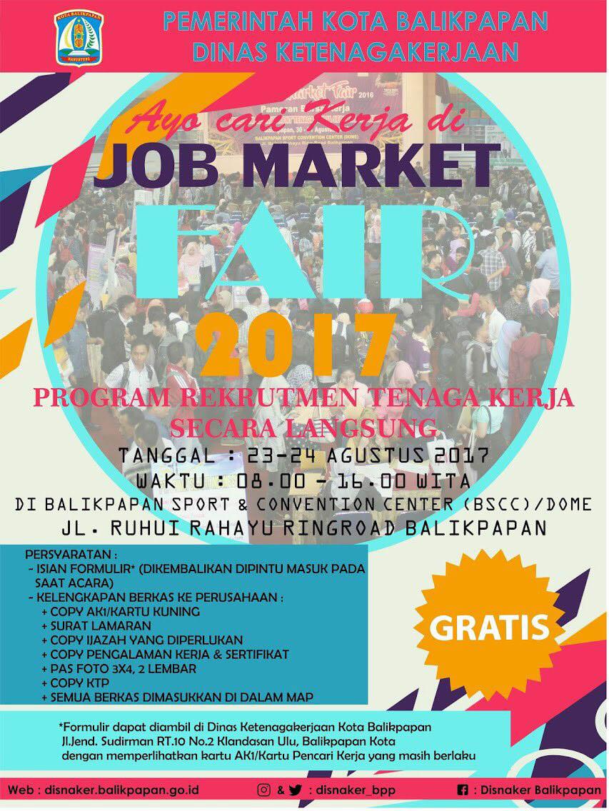 Balikpapan Job Market Fair 2017_2
