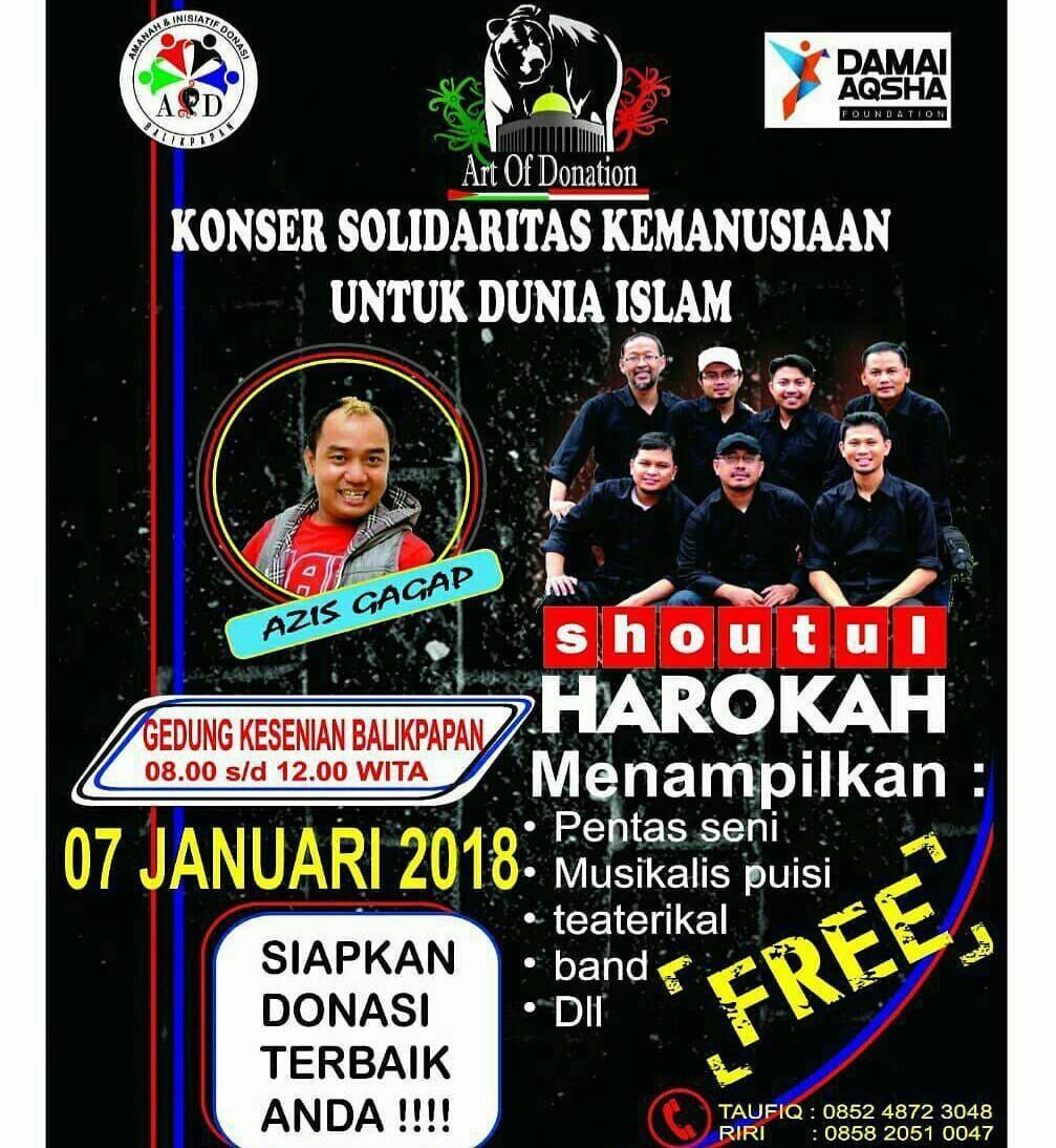 konser solidaritas kemanusiaan