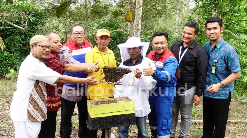 peresmian kampung wisata lebah madu balikpapan