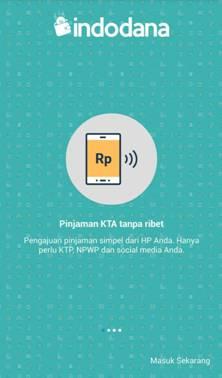 Aplikasi Indo Dana