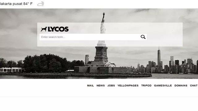 mesin pencarian lycos