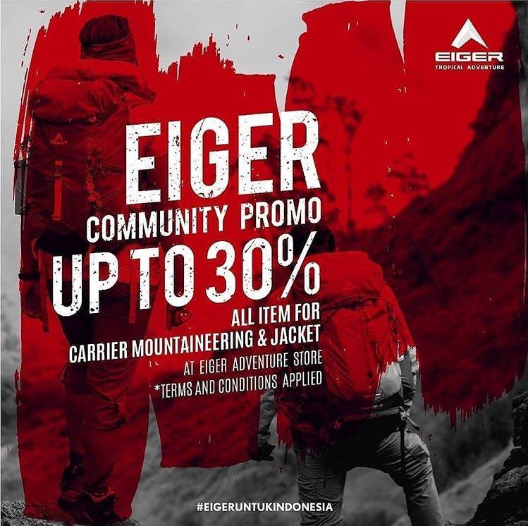 Promo Diskon Kemerdekaan EIGER