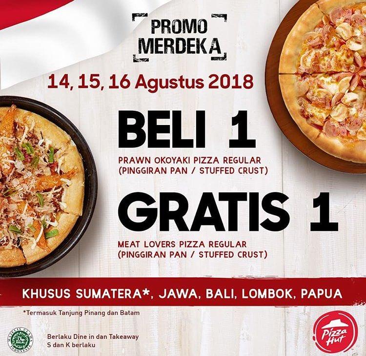 Promo Diskon Kemerdekaan PIZZA HUT