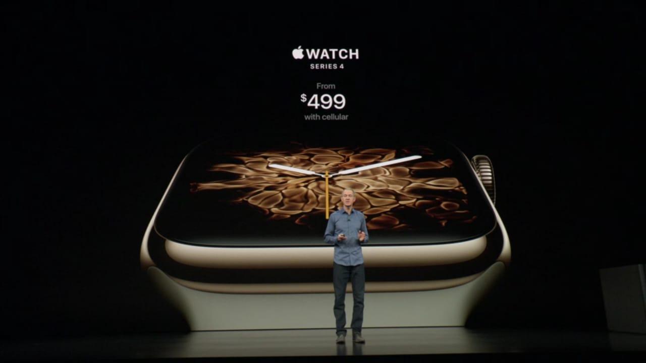 harga apple watch series 4 dengan seluler