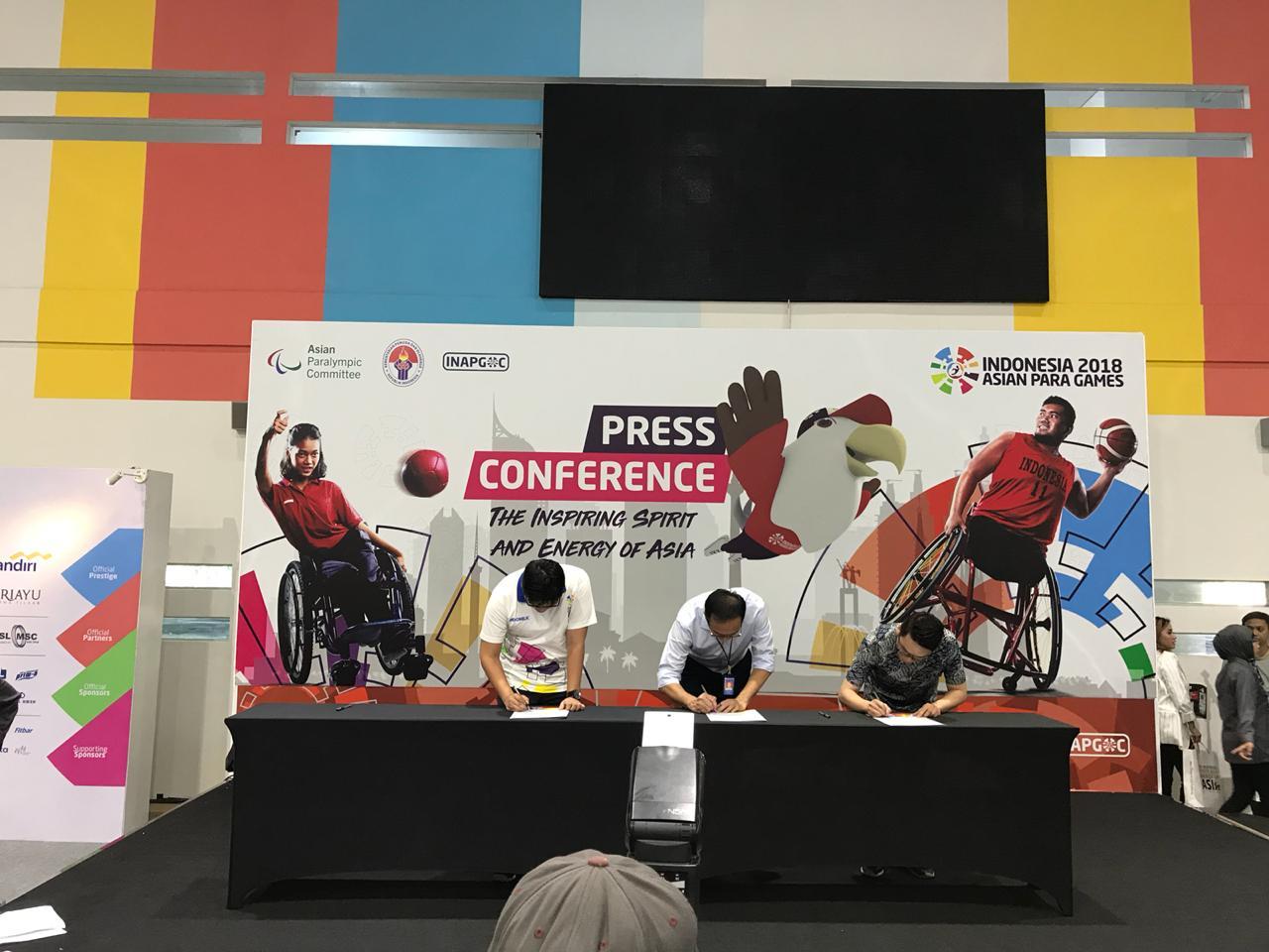 OSIM menjadi sponsor Asian Para Games 2018