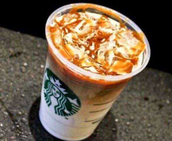 Secret Menu Starbucks Caramel Macchiato Frappuccino
