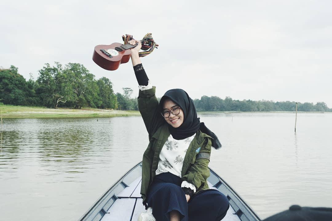 pangesti traveller wanita dari samarinda