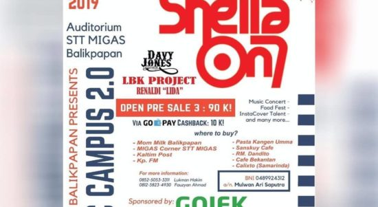 event balikpapan 2019 music campus vol 2