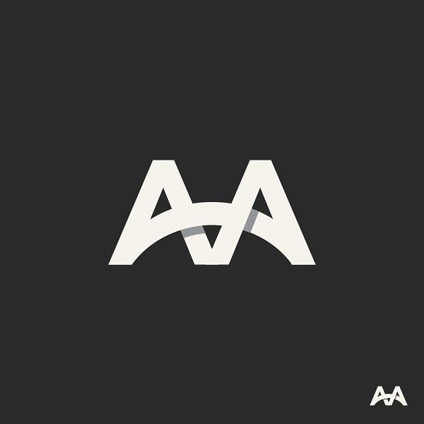 logo AA bridge by george bokhua