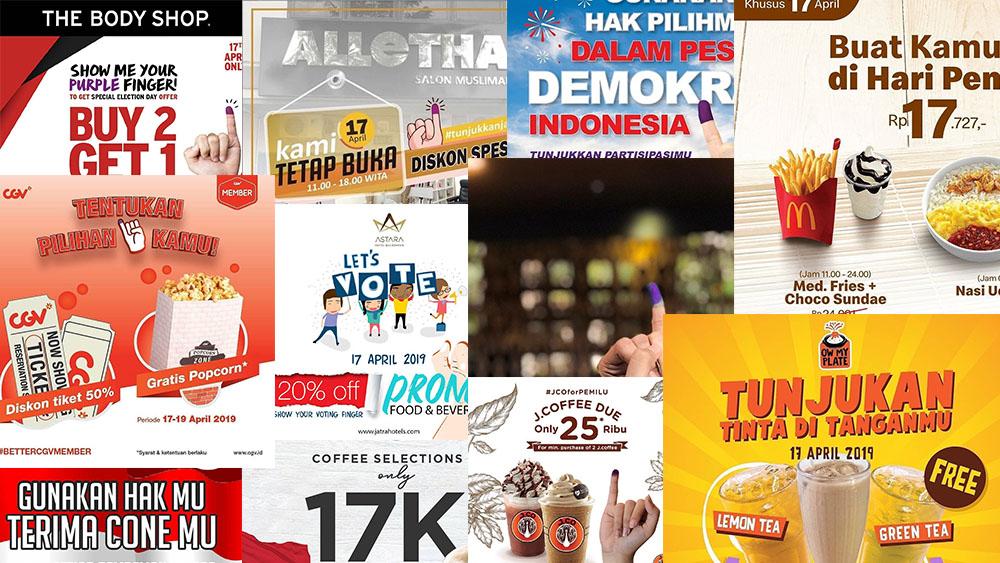 Balikpapanku - Puluhan Promo Makanan Dan Minuman Buat Kamu Yang Sudah Nyoblos Di Pemilu 2019