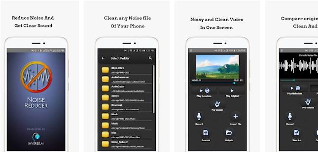 Balikpapanku - aplikasi android menghilangkan noise audio